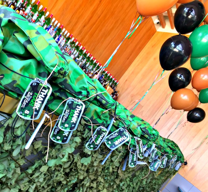 Camouflage Military Quot Laser Tag Quot Birthday Boys Party Ideas