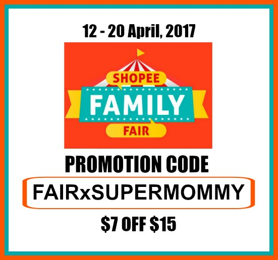 Shopee Promotion Discount Coupon Code Family Fair