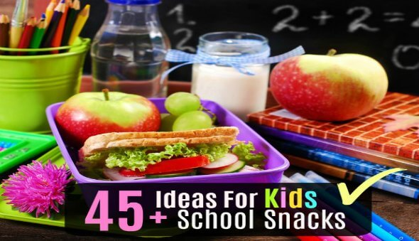 45+ Ideas & Tips for Packing School Snacks