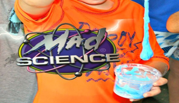 "A ""Mad Science"" Birthday Party!"