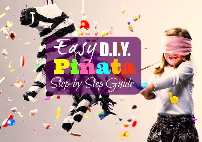 Easy DIY Pinata Step by Step How to Make Homemade Pinata Guide Ideas Pictures