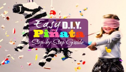 How to make a pinata DIY ideas step by step kids birthday party homemade pinata