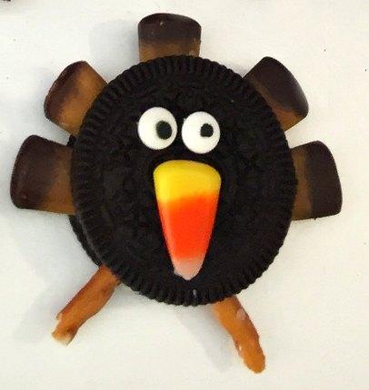 6 Thanksgiving No Bake Easy Turkey Cookie Recipe