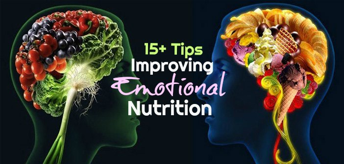 Tips for Emotional Nutrition Overall Well Being Food Happiness Depression Anxiety Stress