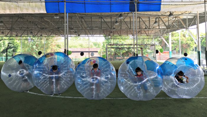 Bubble Soccer Bump Singapore Kids Birthday Party Package Venue 3