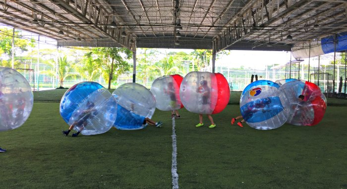 Bubble Soccer Bump Singapore Kids Birthday Party Package Venue 7