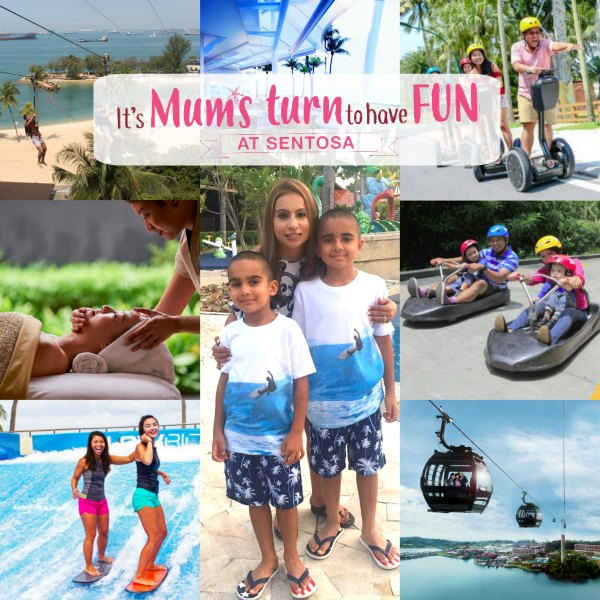 Mothers Day at Sentosa Singapore Brunch Spa Activities Spa Kids Family Promotions Discounts