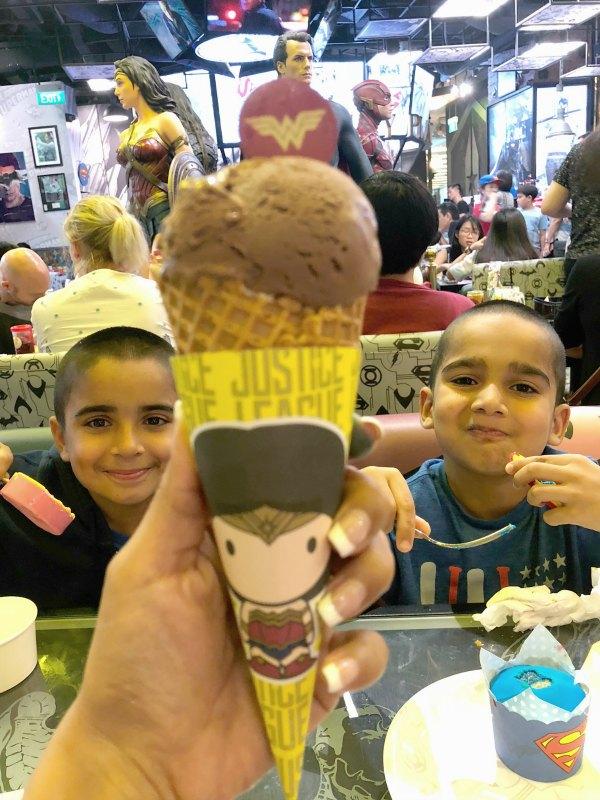DC Super Comics Super Heroes Cafe Review Singapore Menu Promotion Discounts Food Kids Child Friendly Restaurants MBS Takashimaya 13
