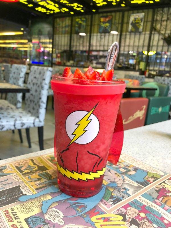 DC Super Comics Super Heroes Cafe Review Singapore Menu Promotions Discounts Food Kids Child Friendly Restaurants MBS Takashimaya 5