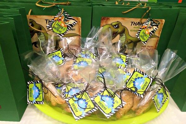 T-Rex & Stegosaurus Cookies