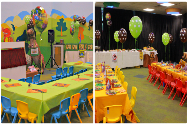 Awesome Party Room Set Up