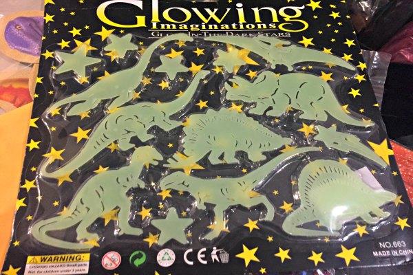 Glow-in-the-Dark Dinosaurs