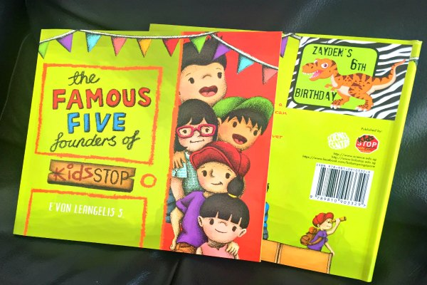 KidsSTOP's Awesome Book for the Goodie Bag