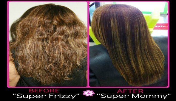 Stop Looking Like A Frizzy Mommy! Try A Keratin Treatment…