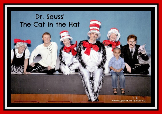 SuperMommy's Review of Dr. Seuss' The Cat In The Hat at the DBS Arts Centre
