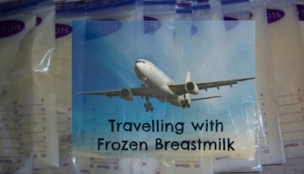 Travelling with Frozen Breastmilk on Dry Ice