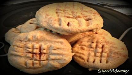 Sugar-Free Peanut Butter Cookies