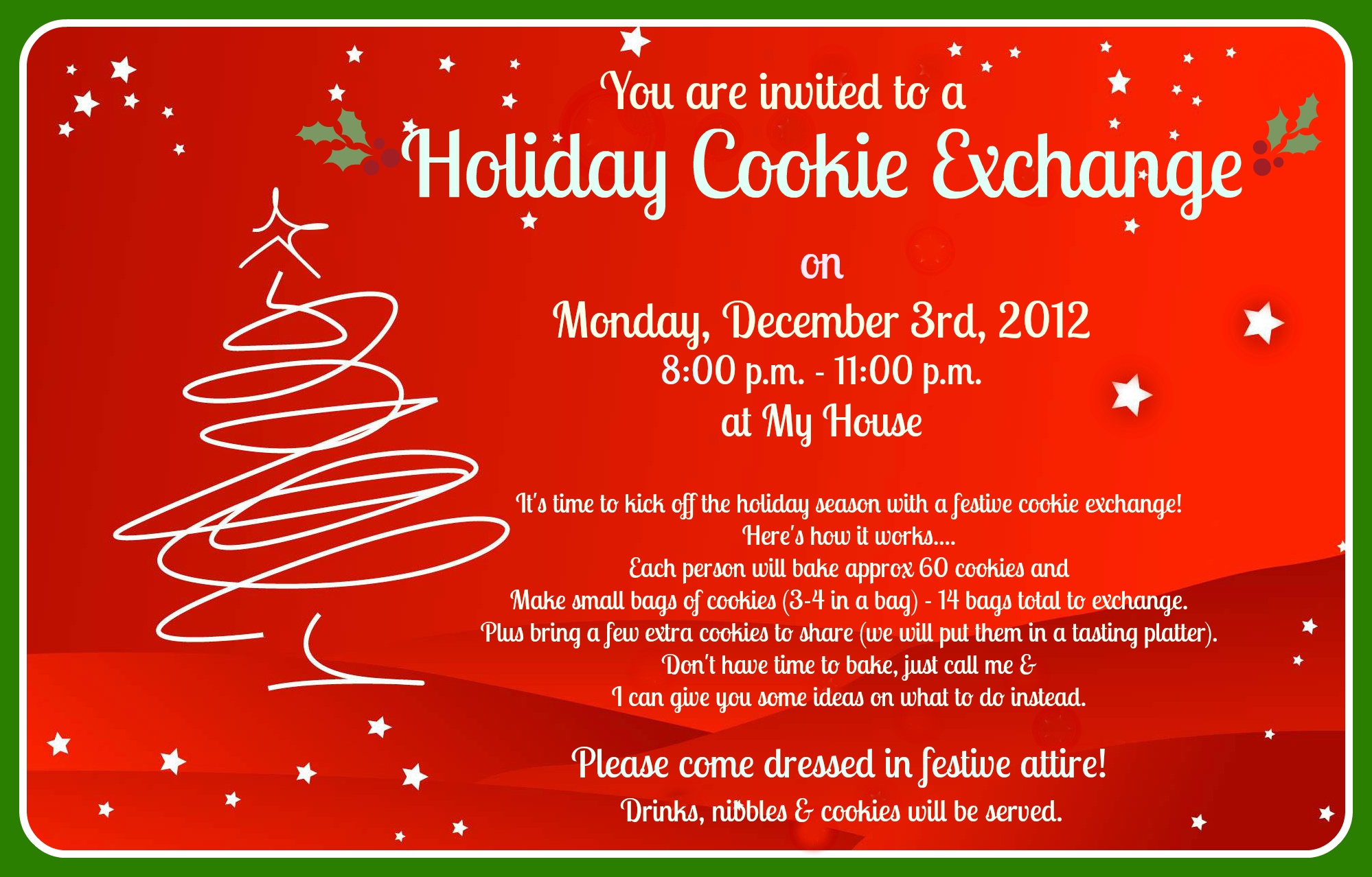 How To Plan A Modern Cookie Exchange