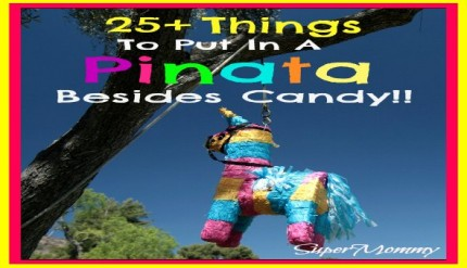 25+ Things To Put In A Birthday Pinata Besides Candy
