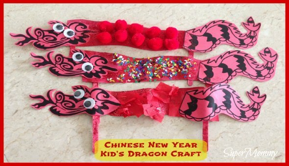 Chinese New Year Kid's Dragon Craft