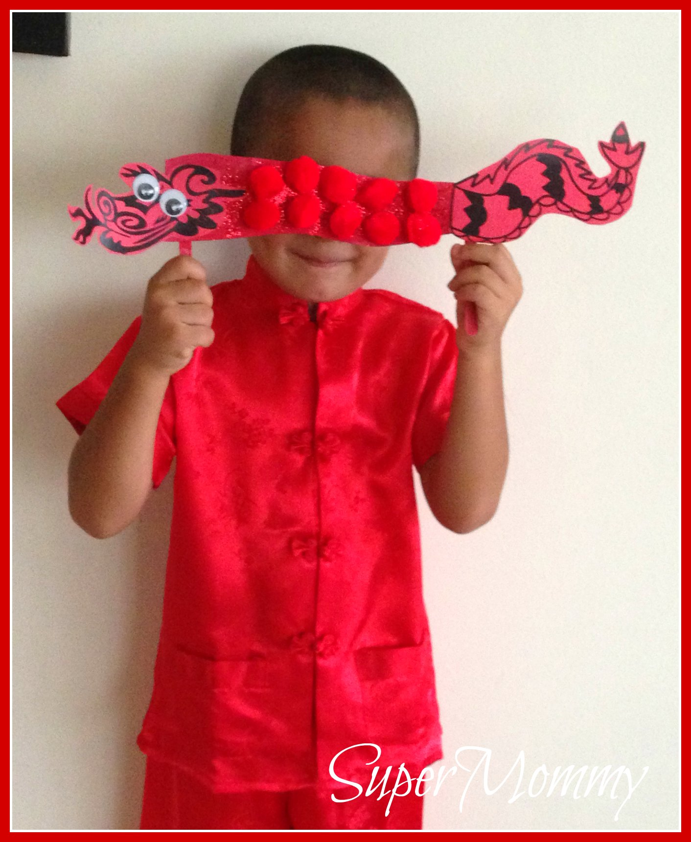 Easy Kid S Craft Chinese New Year Dragon