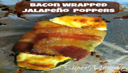 Bacon Jalapeno Poppers Party Appetizer Recipe for Men