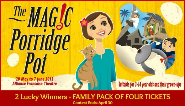 Win Tickets to See The Magic Porridge Pot Production in Singapore!