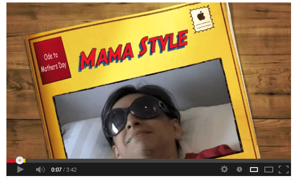 "Do you have ""Mama Style""? – A Totally Funny Mother's Day Gangam Style Video"