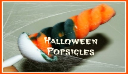 Halloween Popsicle - Easy Halloween Party Food Idea