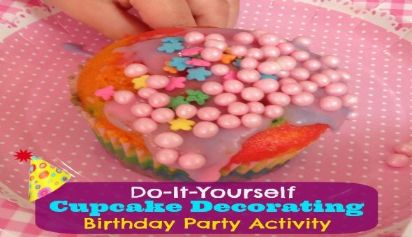 "DIY ""Cupcake Decorating"" Party Activity"