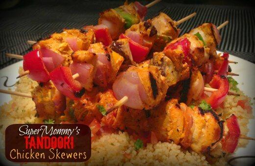 Tandoori Chicken Skewers Recipe