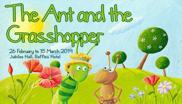 The Ant and the Grasshopper Tickets Giveaway!