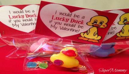 Free Printable - Valentine's Day Cards - Ducks