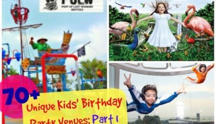 Kid's Birthday Party Venue Singapore