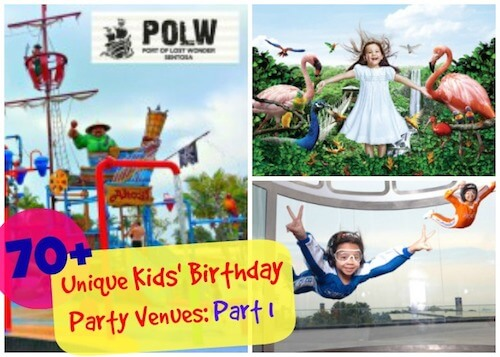Kid's Birthday Party Venue Singapore