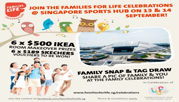 Families for Life 2014 – Win a $500 Room Makeover