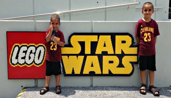New LEGOLAND Star Wars Display