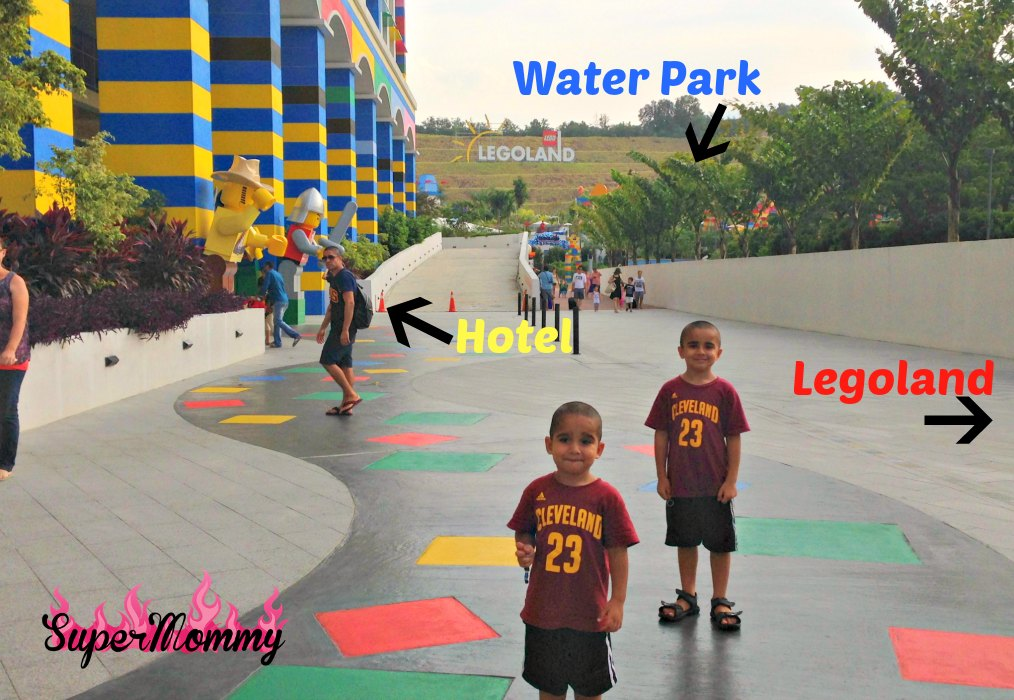 Legoland Hotel Resort Malaysia to Water Park