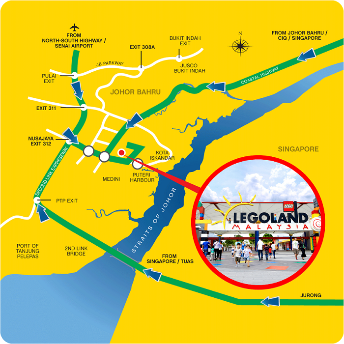 Driving to Legoland Malaysia from Singapore