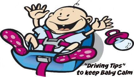 Driving tips to keep baby calm