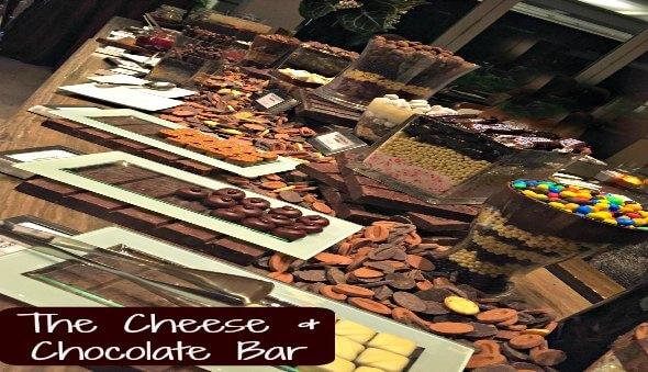 The Cheese & Chocolate Bar at Marina Bay Sands
