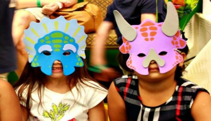 dinosaur themed kids birthday party at KidsSTOP