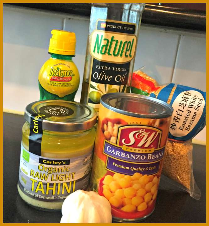 Easy Hummus Houmous Dip Party Recipe