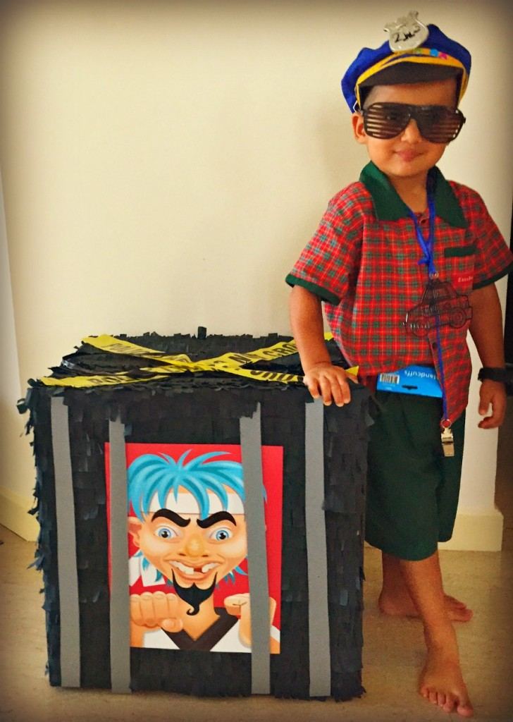 Cops & RobbersBirthday Themed Jail Pinata