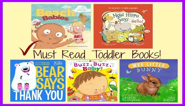 "Top 20 ""Must Read"" Toddler Board Books (Part 1)"