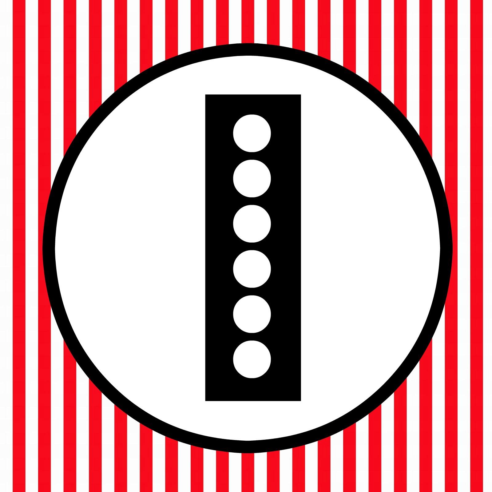 free printable happy birthday banner red black white