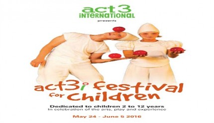 Main ACT 3i Festival for Children 24 May to 5 June