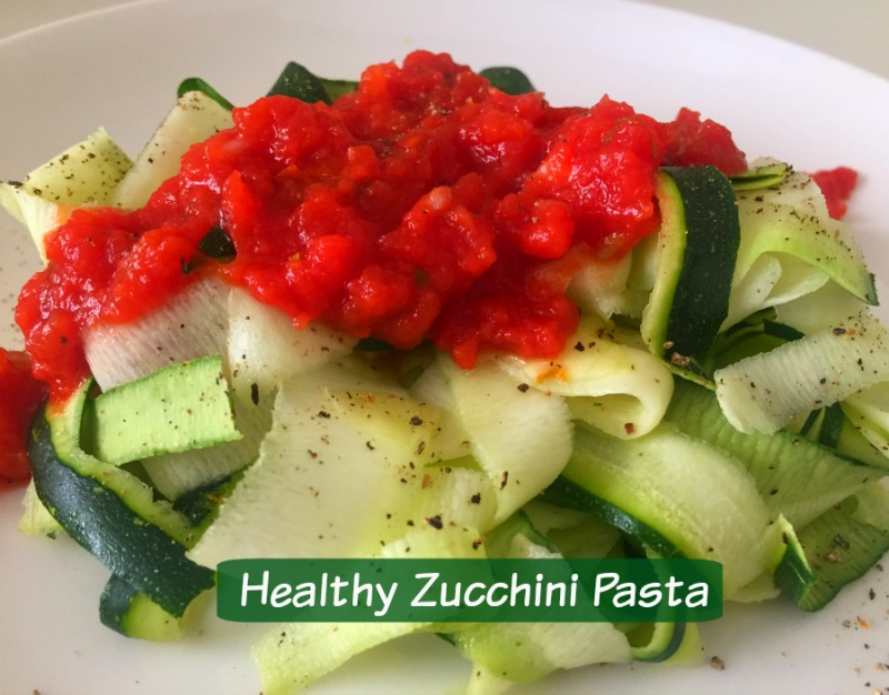 Easy Zucchini Pasta Low Carb Recipe