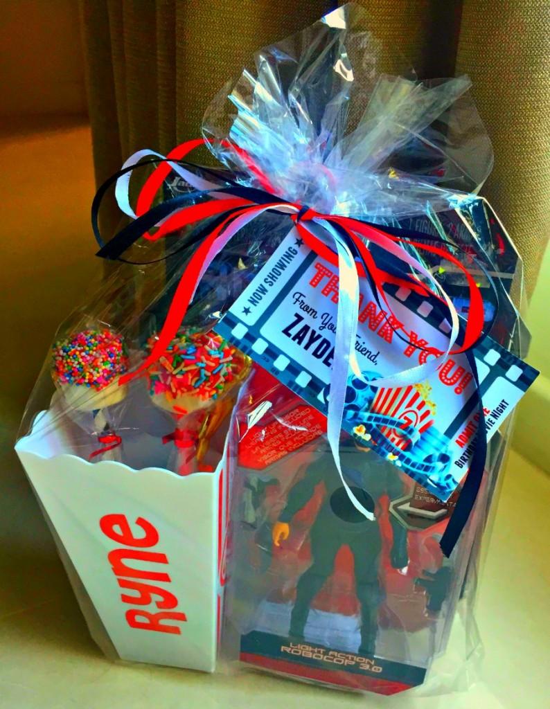 Movie Night Kids Birthday Party Goodie Bags