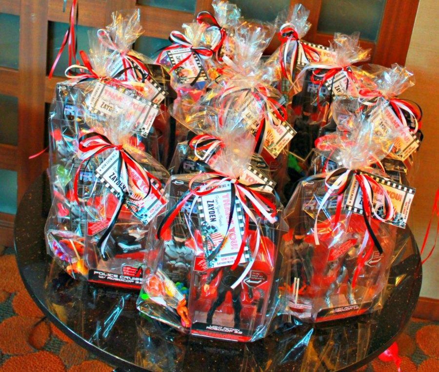 Movie Night Themed Kids Birthday Party Goodie Bags